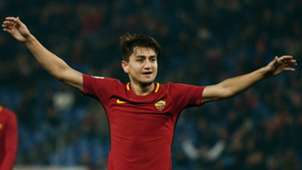 Cengiz Under Roma Benevento Serie A 02112018
