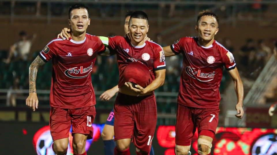 Do Van Thuan - Sam Ngoc Duc - Nguyen Huu Tuan  Ho Chi Minh City FC vs Sai Gon FC Round 24 V.League 2019
