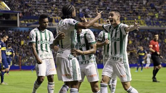 Keno Diogo Barbosa Miguel Borja Boca Palmeiras Copa Libertadores 25042018