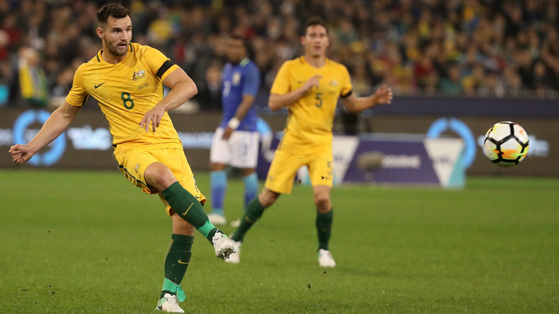 Bailey Wright Australia v Brazil Friendly 13062017