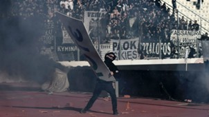PAOK AEK Athens fans Greek Cup Final 06052017