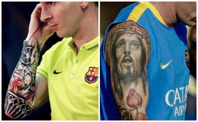 Tatuajes Lionel Messi