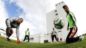 Cavalieri Julio Cesar treino Fluminense 15 04 2017