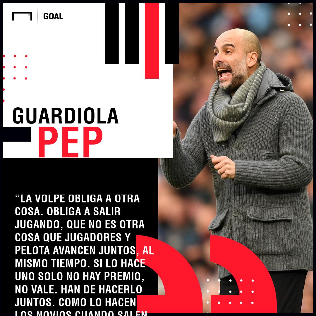 Pep Guardiola Ricardo La Volpe