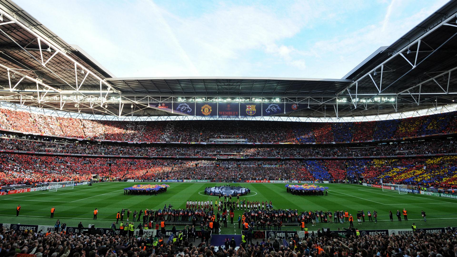Wembley general view