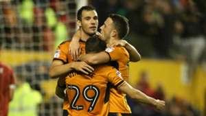 Wolves celebrate