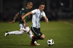 Argentina México Chaka Rodríguez Lo Celso
