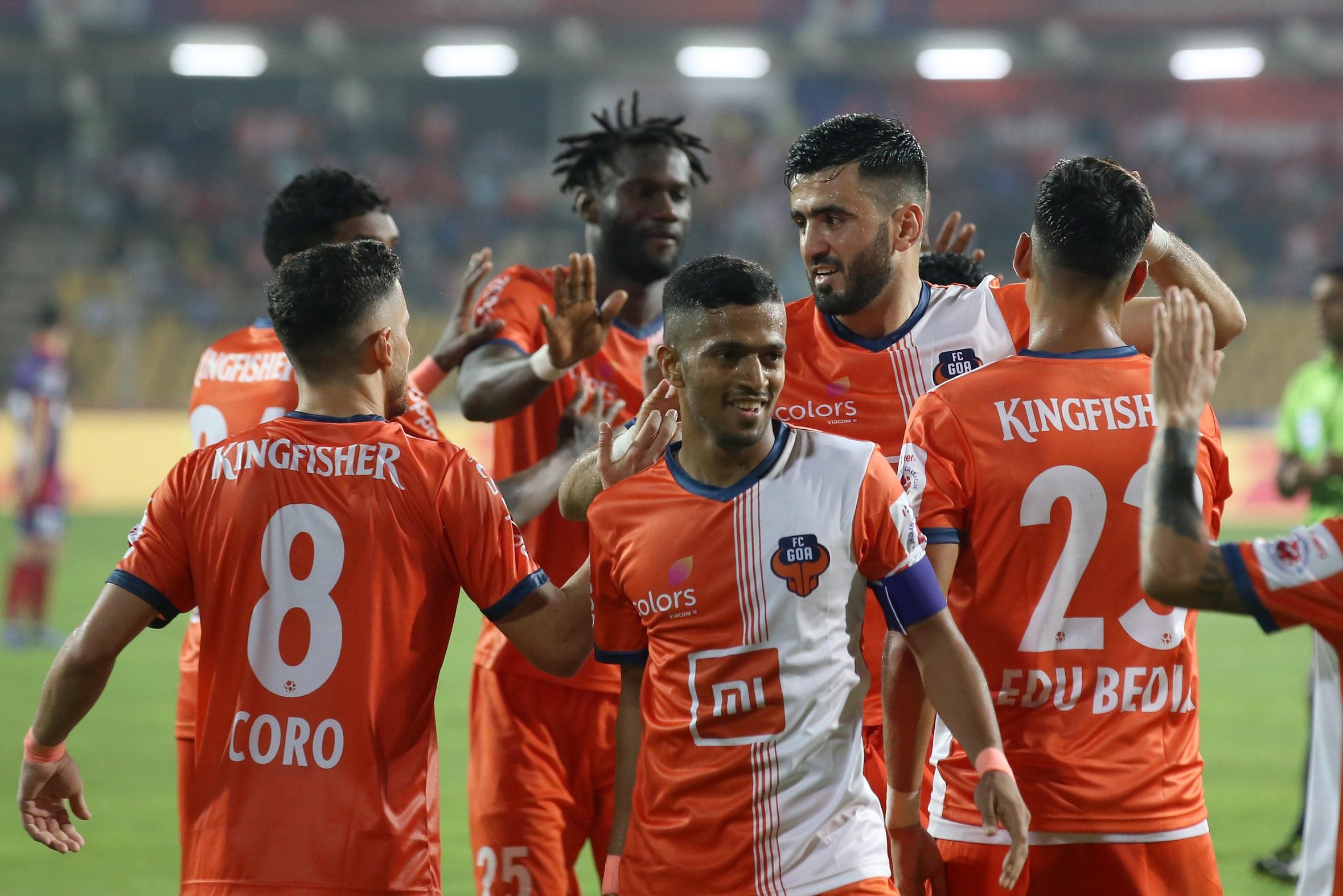 ISL 2018-19: Sergio Lobera pleased with the evolution of FC Goa's defence