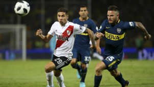 Montiel Nandez River Plate Boca Juniors Supercopa Argentina 14032018