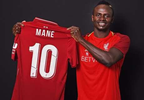 Liverpool: Sadio Mane kriegt die Rückennumer