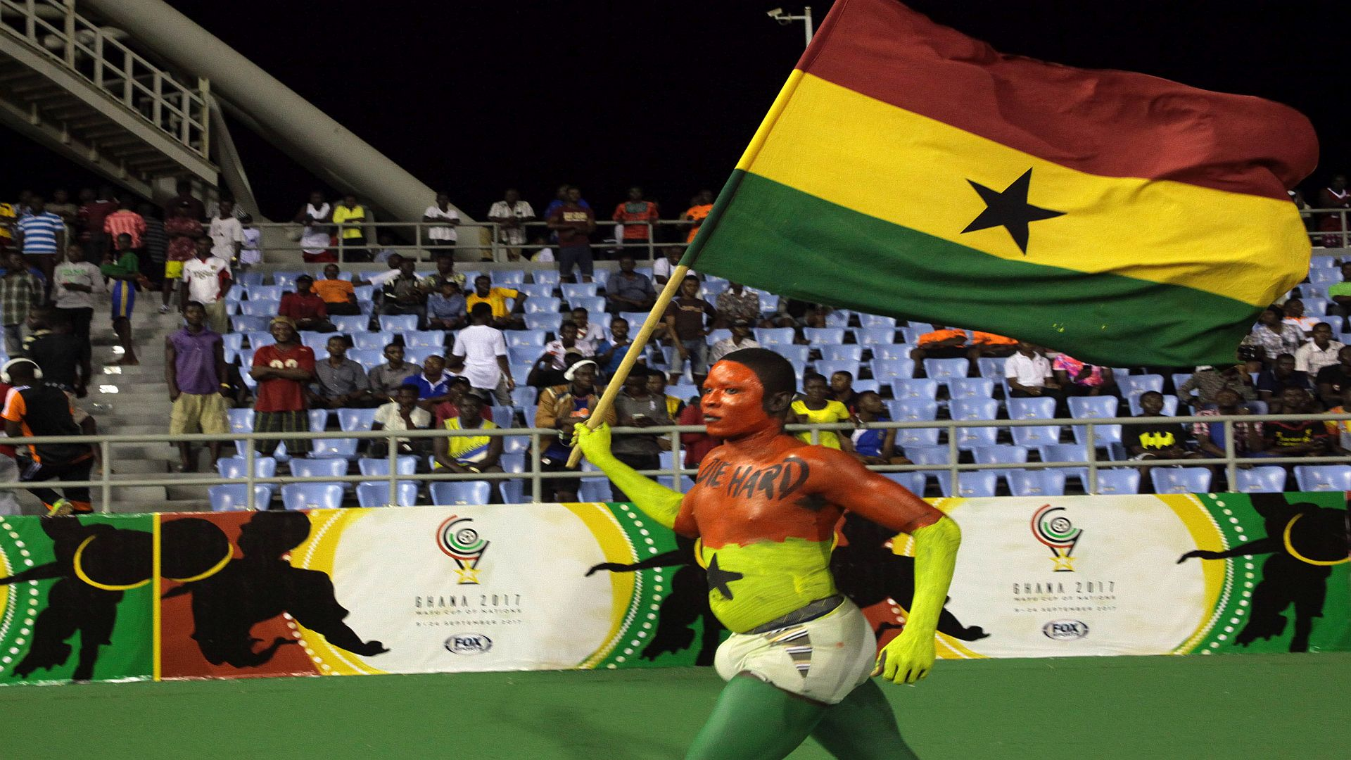 Black Stars overcome Guinea in first group game