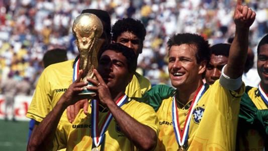 Romário, Dunga, Brazil, World Cup 1994