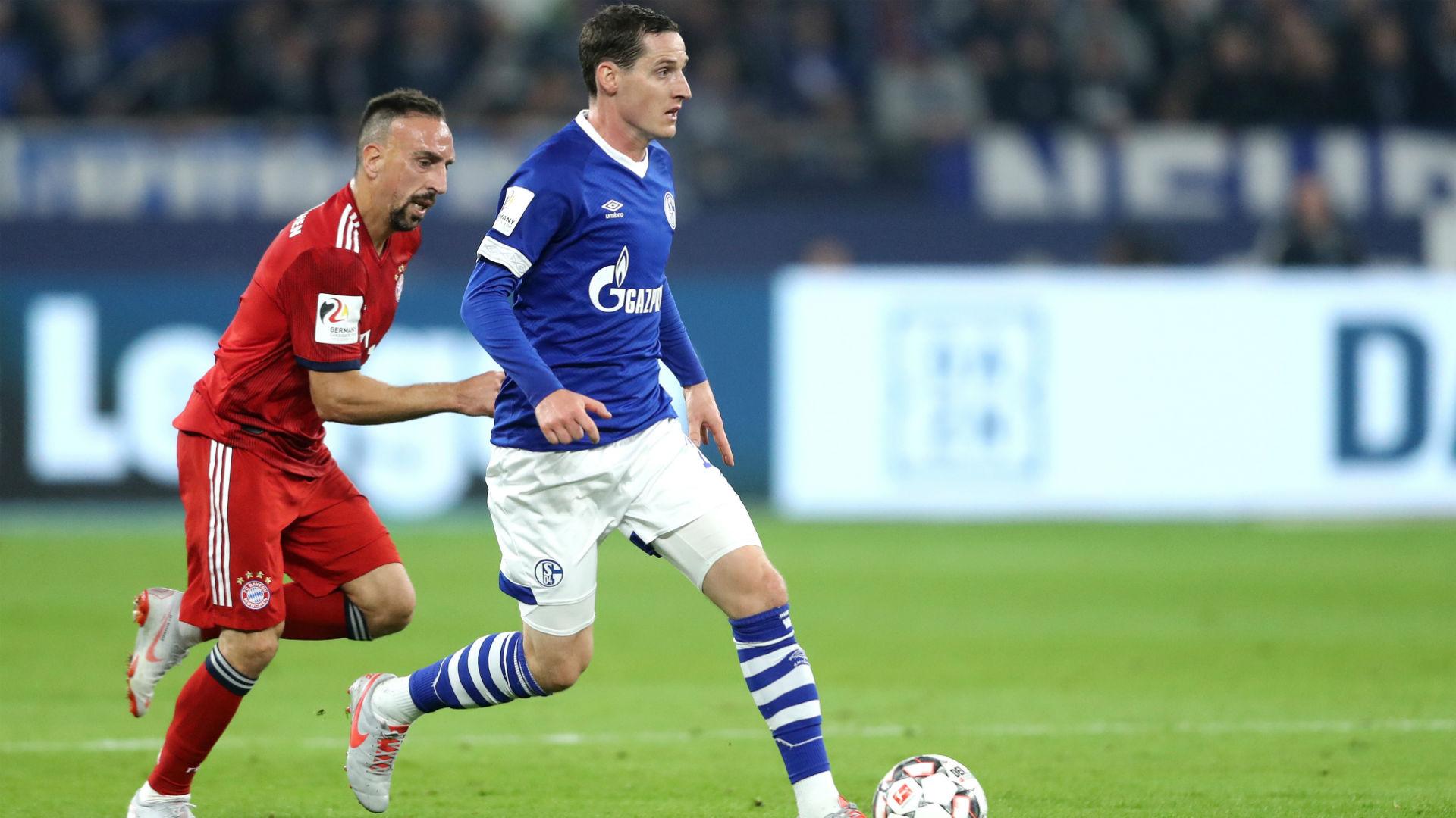 Sebastian Rudy Schalke 04 Franck Ribery 2018
