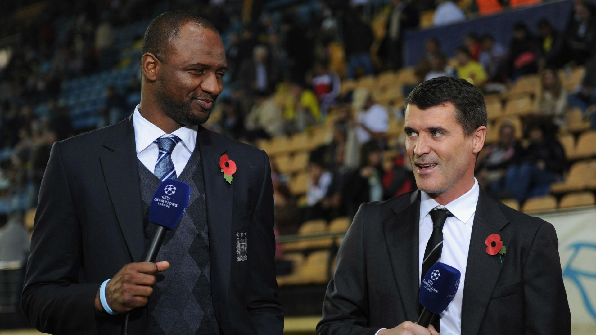 Patrick Vieira Roy Keane 2011