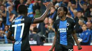 Percy Tau red-carded as Club Brugge edge closer to Champions League group stages