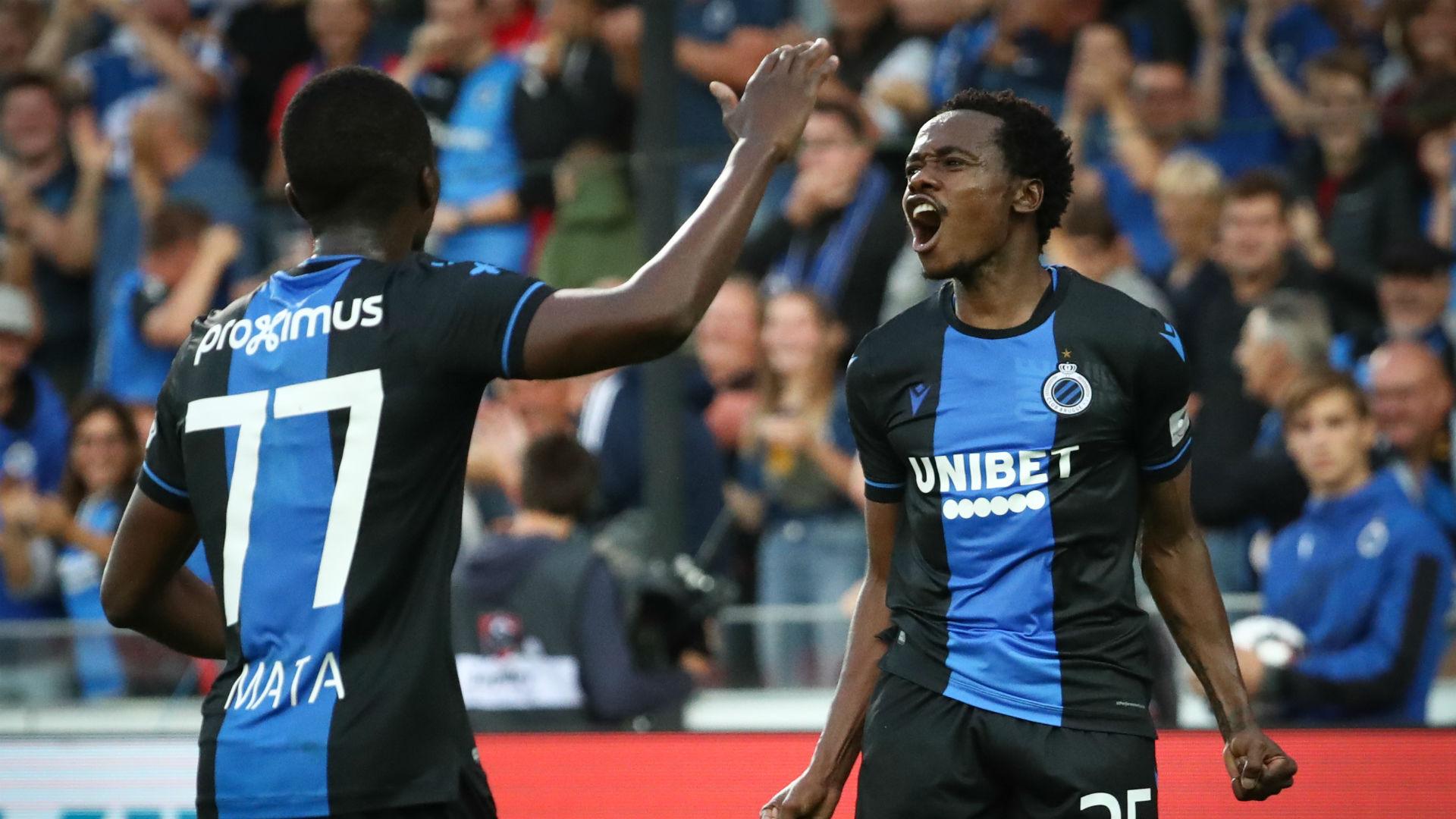 Percy Tau, Club Brugge, August 2019