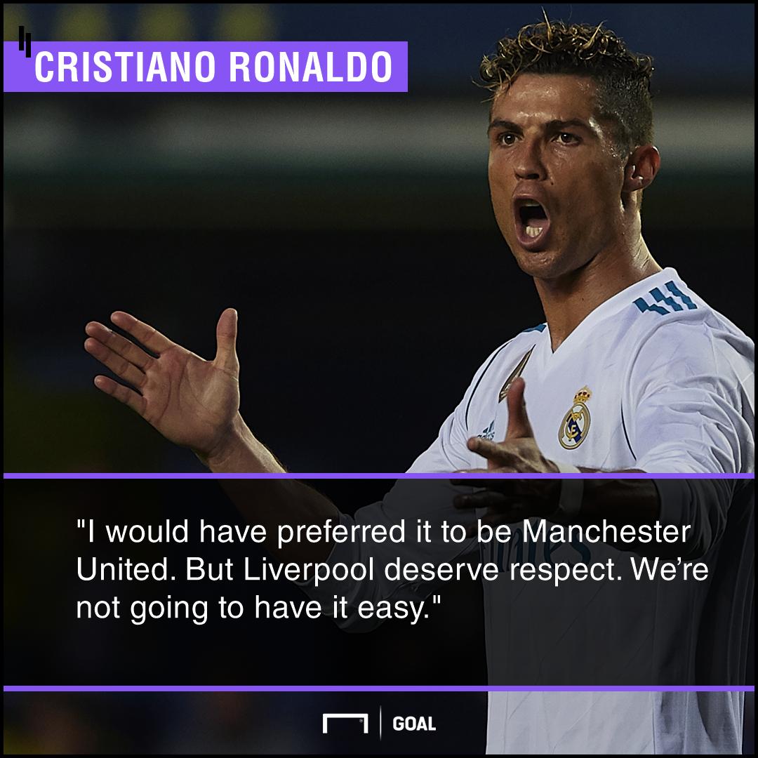 Cristiano Ronaldo preferred Manchester United Champions League final