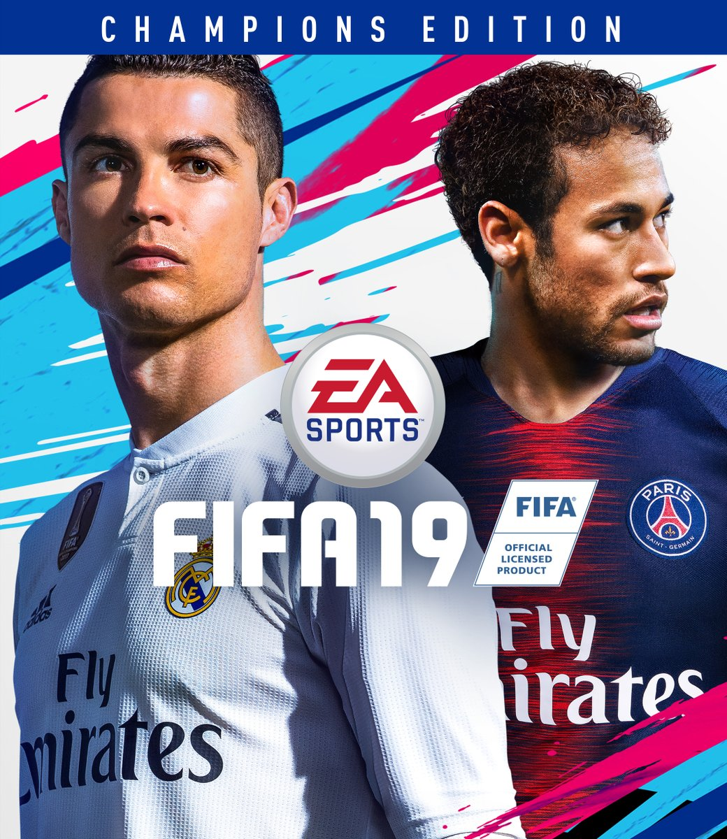 Embed only: FIFA 19 Champions Edition Cover