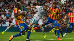 Karim Benzema Real Madrid Valencia LaLiga 27082017