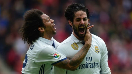 Isco Sporting Gijon Real Madrid La Liga