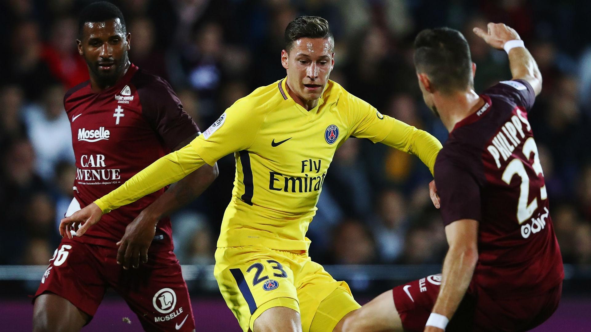 Julian Draxler Metz PSG Ligue 1 08092017