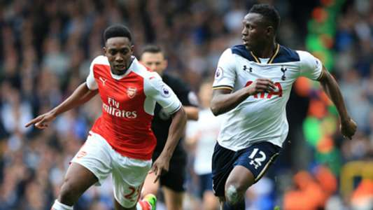 Tottenham's Victor Wanyama v Danny Welbeck