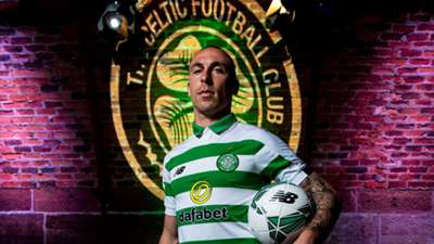 Scott Brown Celtic home kit 2019-20