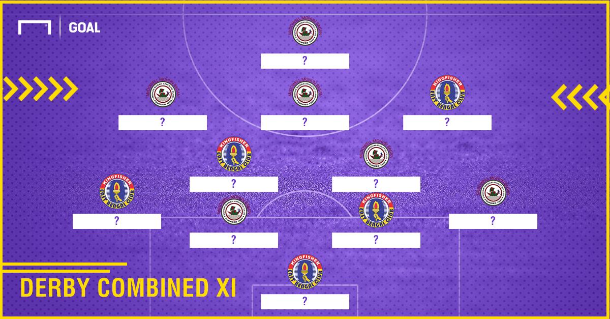 Kolkata Derby combined XI