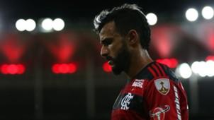 Henrique Dourado Flamengo Santa Fe 18042018 Copa Libertadores