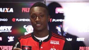 Marlos Moreno Flamengo apresentacao 16012018