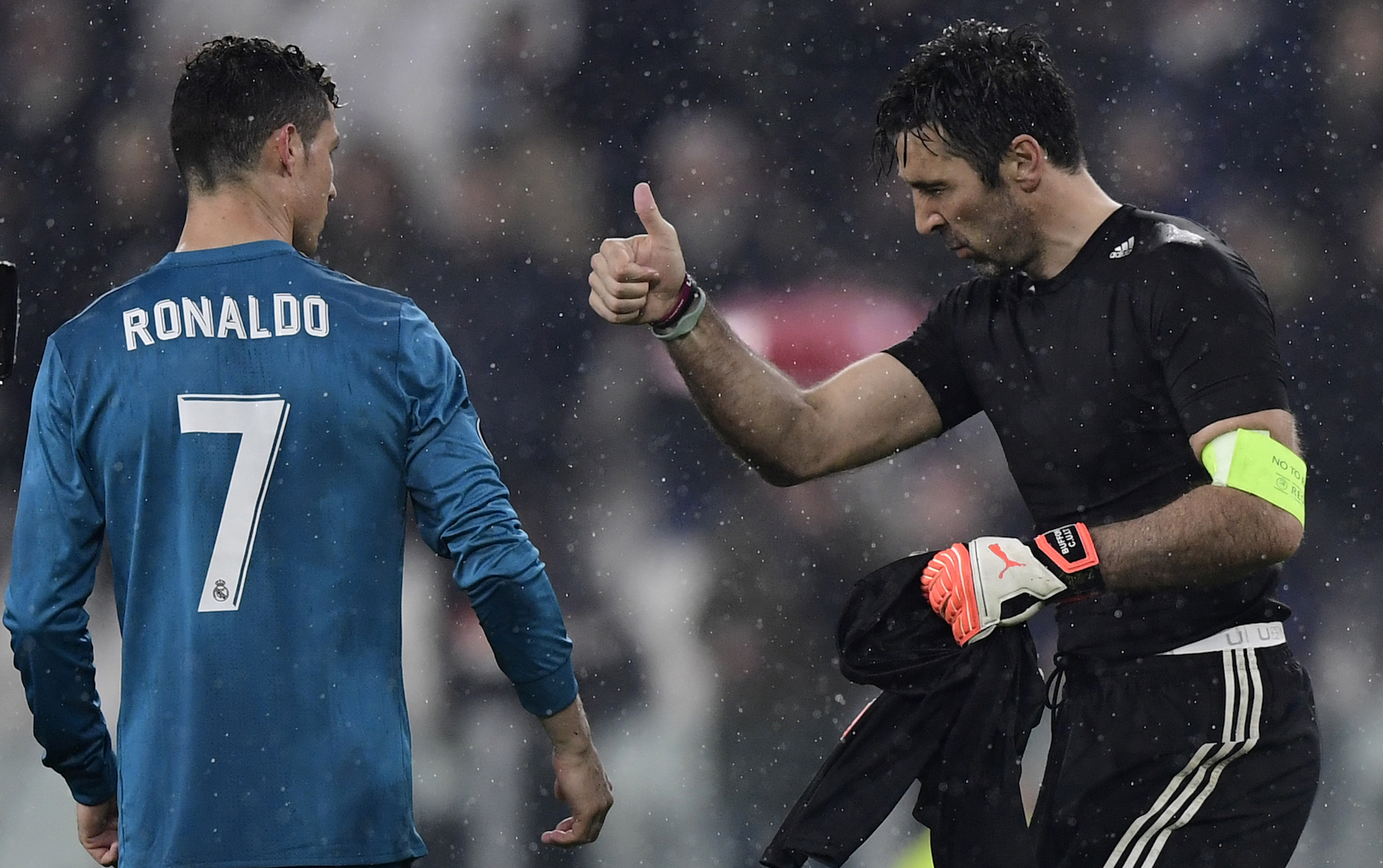 Cristiano Ronaldo & Gianluigi Buffon