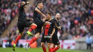 england croatia - domagoj vida dejan lovren - uefa nations league - 18112018