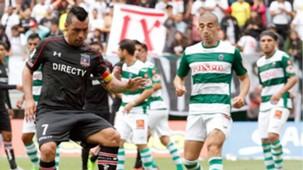 Temuco Colo Colo Clausura 2017 - Esteban Paredes y Diego Díaz