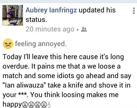 Ian Otieno rant cropped