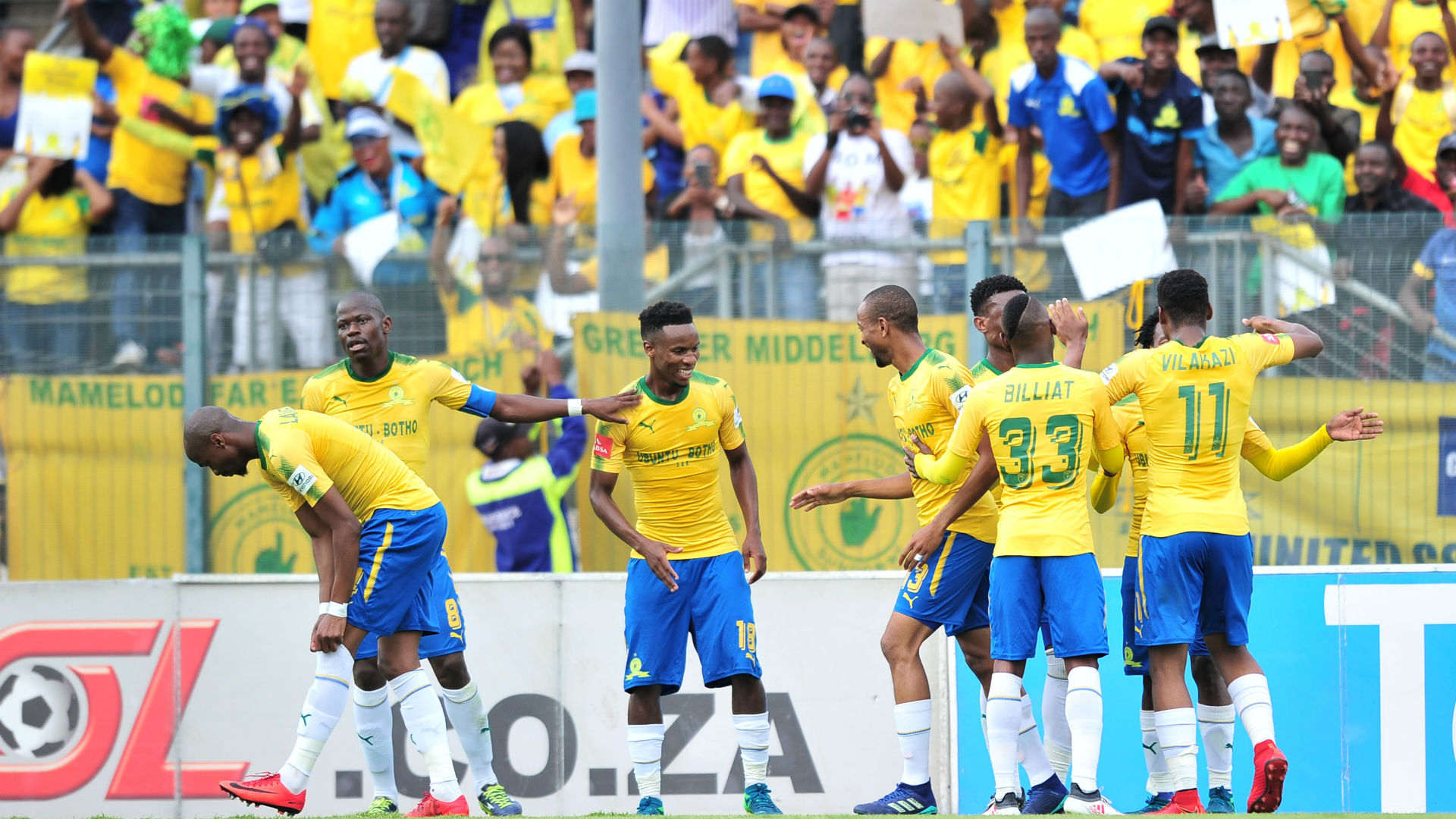 Mamelodi Sundowns champions April 2018