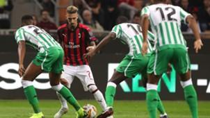Samuel Castillejo Milan Betis Europa League
