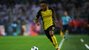 Pierre Emerick Aubameyang Borussia Dortmund Real Madrid Champions League 26092017