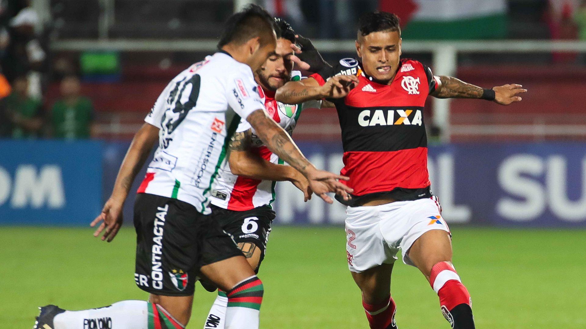 Everton Flamengo Palestino Copa Sudamericana 09082017