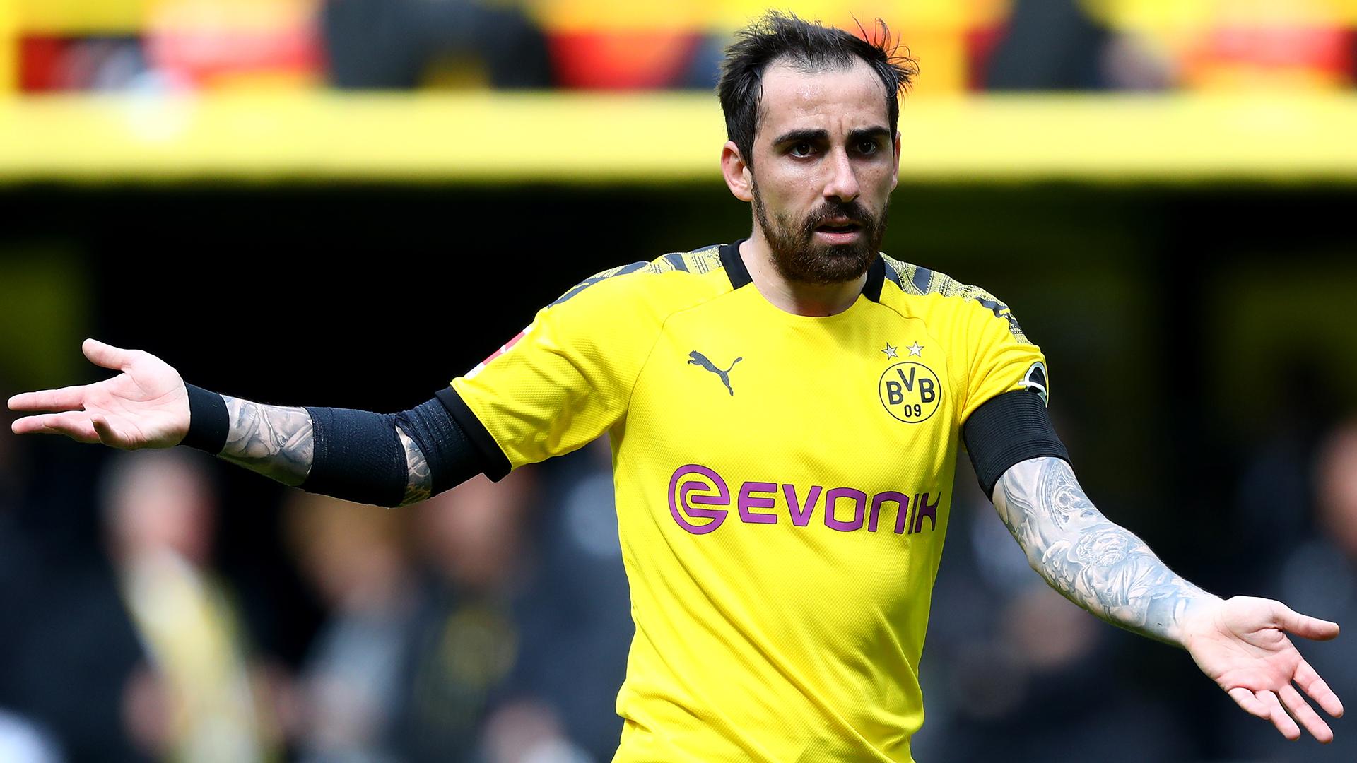 Paco Alcacer Dortmund 2018-19