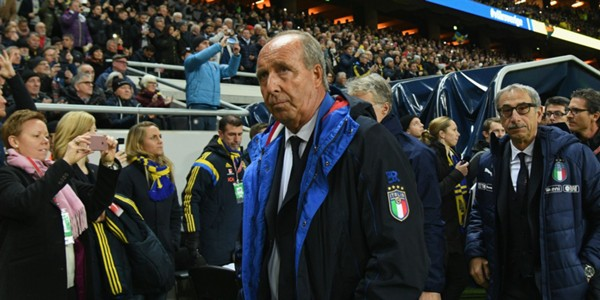 Giampiero Ventura Sweden Italy WC Qualification