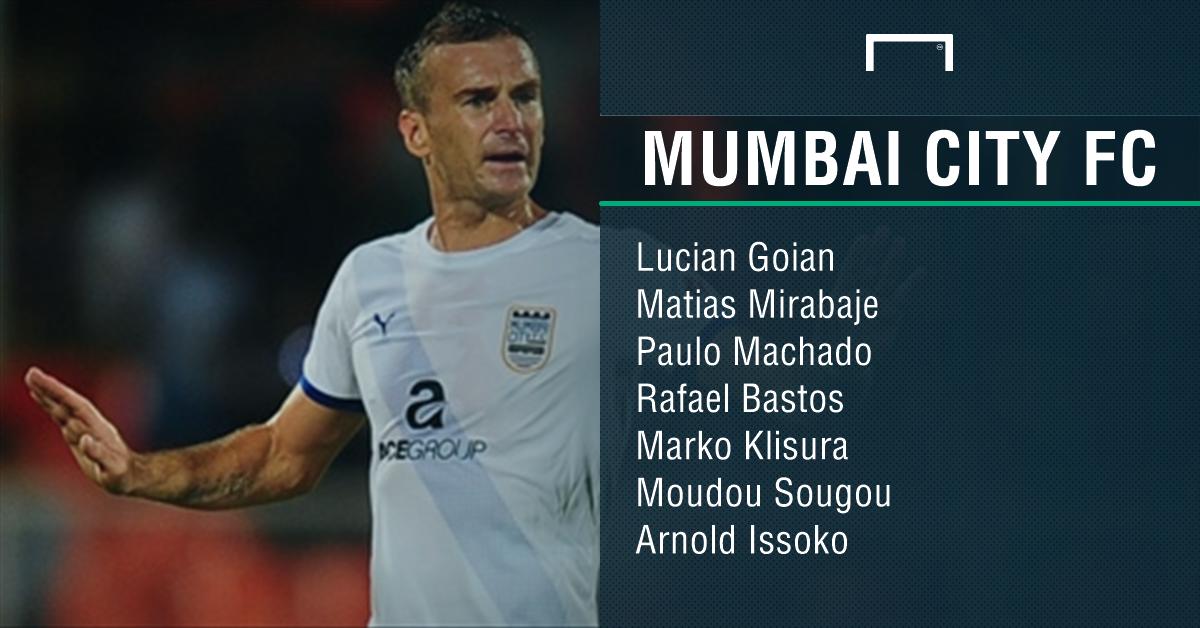Mumbai City FC foreigners