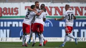 2. Bundesliga: HSV macht es beim KSC kurz spannend, Nürnberg siegt knapp gegen Osnabrück