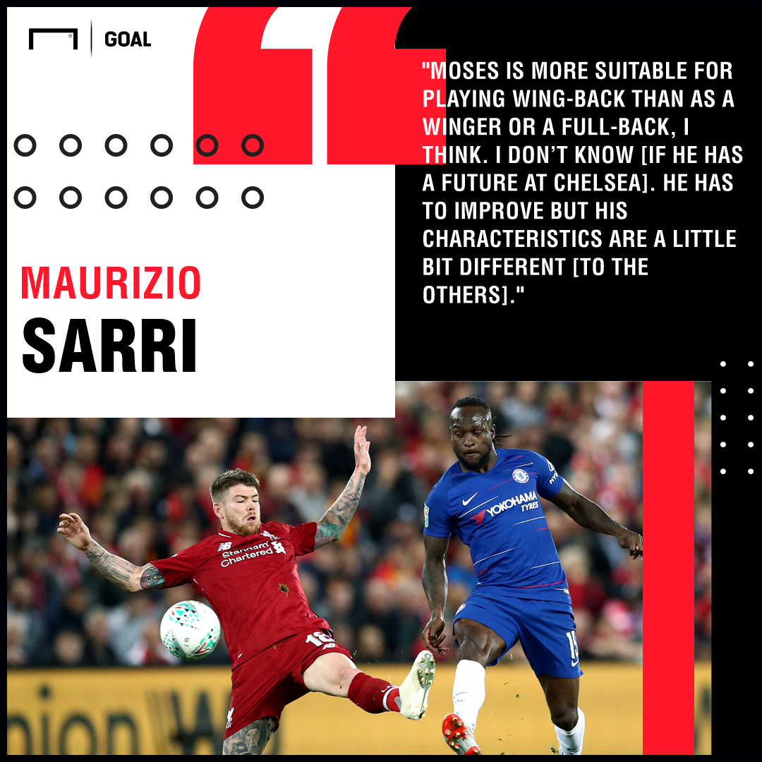 Victor Moses Maurizio Sarri Chelsea PS