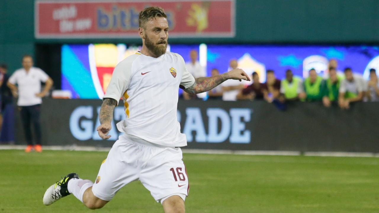Problemi per Di Francesco, De Rossi in dubbio per Atalanta-Roma