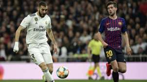 Karim Benzema Real Madrid FC Barcelona Clasico 27022019