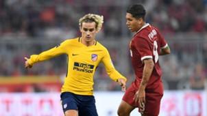 Griezmann Firmino Atlético Liverpool Audi Cup 2017