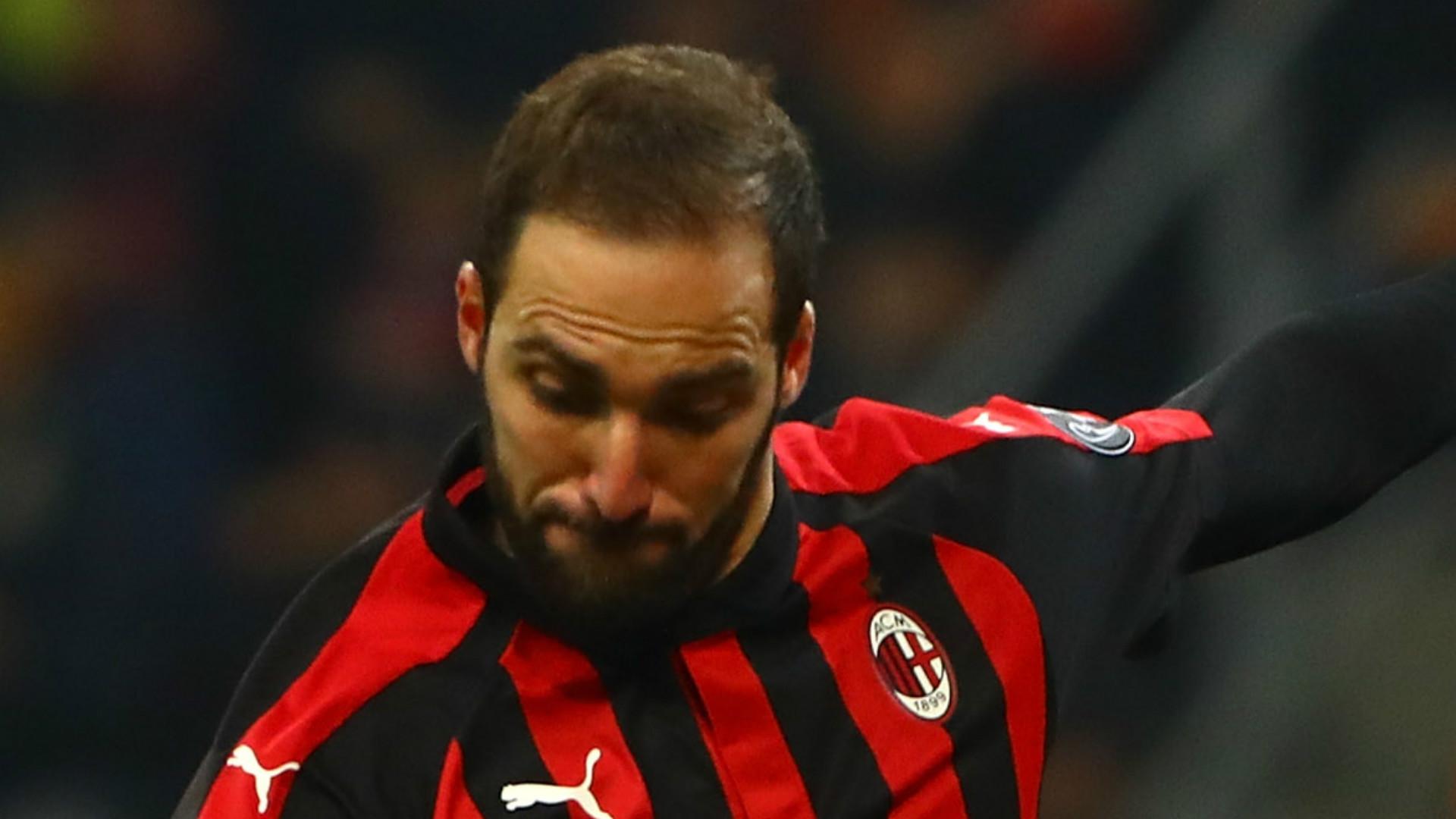 Gonzalo Higuain AC Milan 2018-19