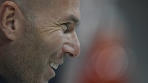 Zinedine Zidane Real Madrid Champions League press conference