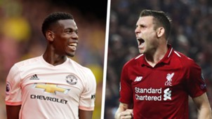 Paul Pogba James Milner split