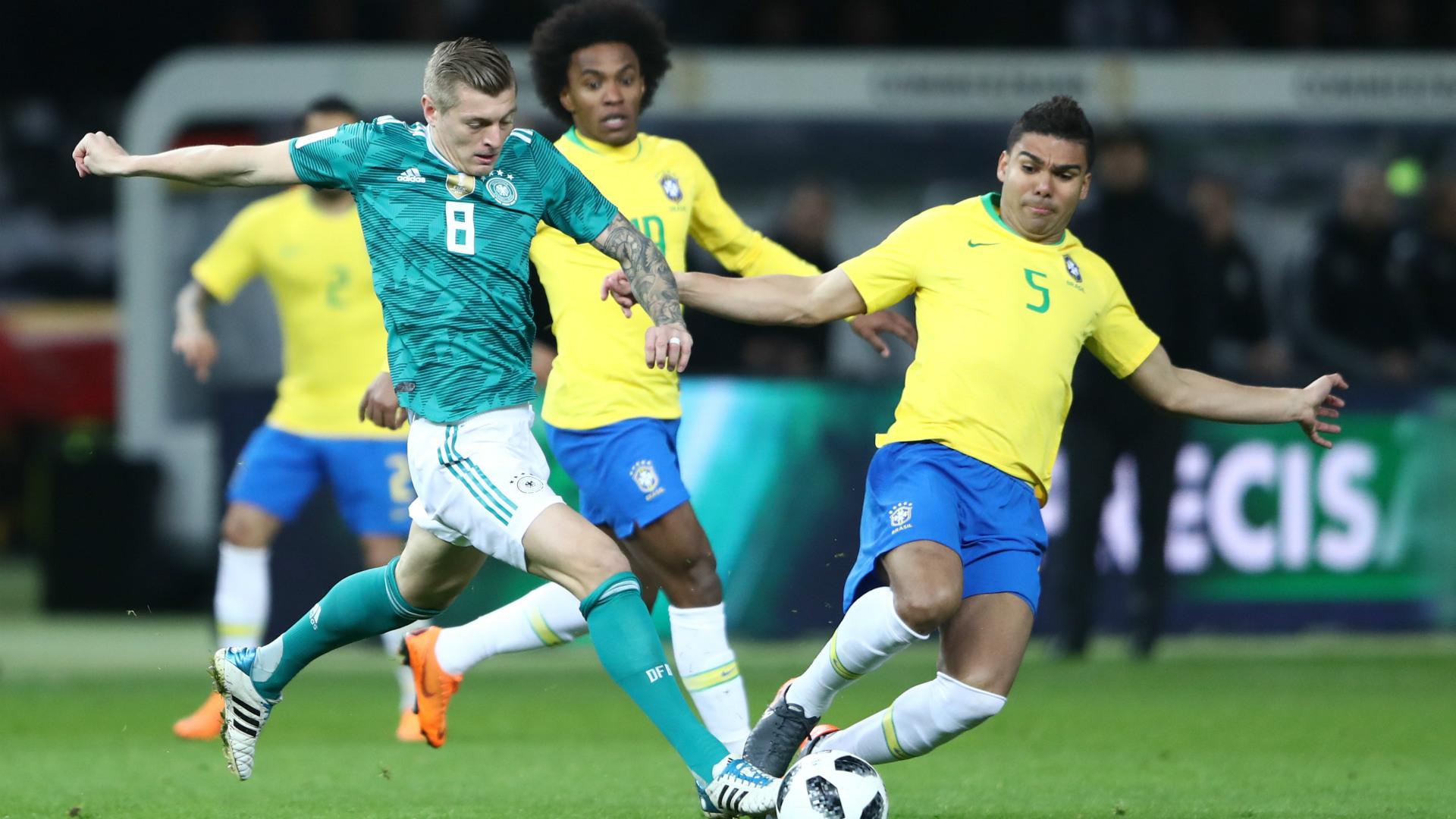 Toni Kroos Deutschland Brasilien 27032018